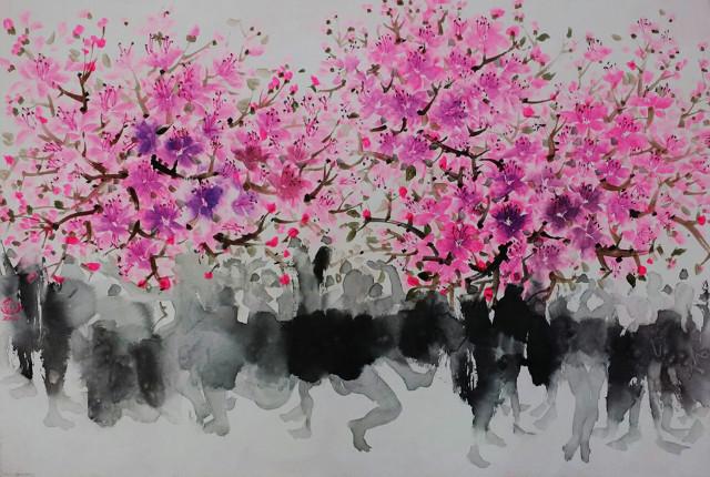 꽃춤(花舞-Flower Dance)1-이범헌作.jpg